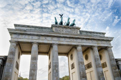 Brandenburg Gate, Pariser Platz, Berlin Royalty Free Stock Photos
