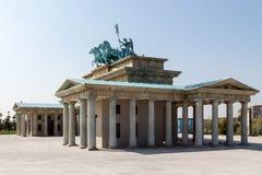 Brandenburg gate Royalty Free Stock Photo