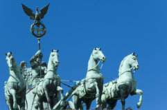 Brandenburg Gate Quadriga Royalty Free Stock Image