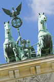Brandenburg Gate Quadriga Royalty Free Stock Photos