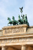 Brandenburg Gate and Quadriga Stock Images