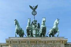 Brandenburg Gate Quadriga Berlin Royalty Free Stock Photos