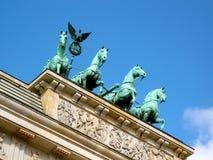Brandenburg gate Royalty Free Stock Photography