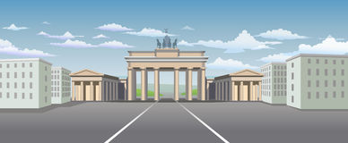 Brandenburg Gate Royalty Free Stock Image