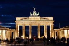 Brandenburg Gate on Royalty Free Stock Image