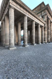 Brandenburg Gate from Side Stock Photos