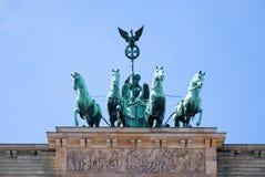 Brandenburg gate Stock Photography