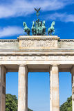 Brandenburg Gate in summer, Berlin, Germany Royalty Free Stock Photo