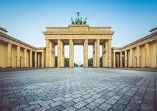 Brandenburg Gate at sunrise, Berlin, Germany royalty free stock photo