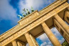 Brandenburg Gate at sunrise, Berlin, Germany royalty free stock images