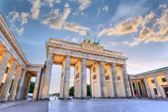 Brandenburg Gate - Berlin - Germany royalty free stock photo