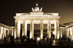 Brandenburg Gate Royalty Free Stock Photography