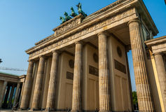 Brandenburg Gates, Berlin Royalty Free Stock Photos