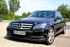Mercedes-Benz W204 C180 Royalty Free Stock Photo