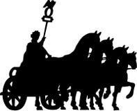 brandenburg hästar Royaltyfri Foto