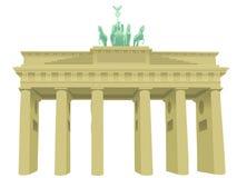 brandenburg port vektor illustrationer