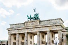 Brandenburg port av Berlin, Tyskland royaltyfri foto