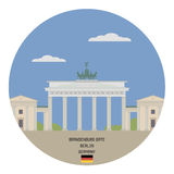 brandenburg port berkshires royaltyfri illustrationer