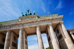 Brandenburg port, Berlin, Tyskland royaltyfri bild