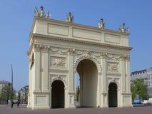 Brandenburg port i Potsdam Royaltyfria Bilder