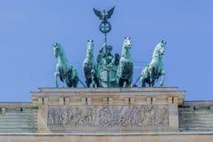 Brandenburg Tor Berlin Germany fotografering för bildbyråer