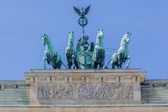 Brandenburg Tor Berlin Germany Stock Image