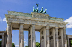 Brandenburg Tor Berlin Germany Royalty Free Stock Photos