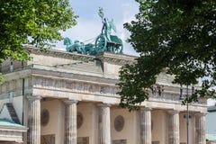 Brandenburg Tor Berlin Germany Royalty Free Stock Photo