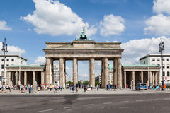 Brandenburg Tor Berlin Germany Royalty Free Stock Photography