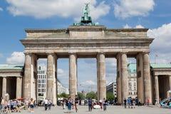 Brandenburg Tor Berlin Germany Stock Image