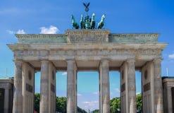 Brandenburg Tor Berlin Niemcy Obrazy Royalty Free