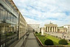 Brandenburger门,柏林 免版税库存照片