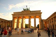 Brandenburger brama w Berlin Obrazy Royalty Free