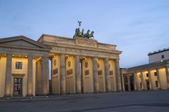 Brandenburger-Felsen lizenzfreie stockfotografie