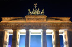 Brandenburger gate Royalty Free Stock Photography