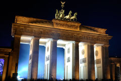 Brandenburger gate Royalty Free Stock Photos