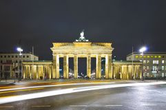 Brandenburger gate Royalty Free Stock Image