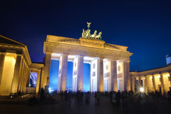 Brandenburger gate in Berlin Royalty Free Stock Image