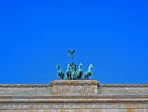 Brandenburger Gate in Berlin, Germany stock photos