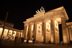 Brandenburger gate in berlin Stock Photography