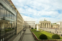 Brandenburger Gate, Berlin Royalty Free Stock Photos