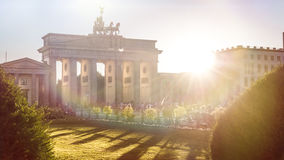 Brandenburger gate Stock Images