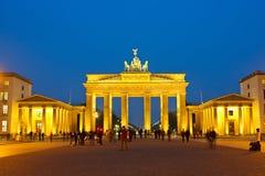 Brandenburger Tor lizenzfreie stockfotos