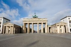 Brandenburger Tor. In Berlin, Germany royalty free stock images