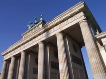 Brandenburger Tor. The famous Brandenburg gate in Berlin is the German capital´s landmark Stock Photos
