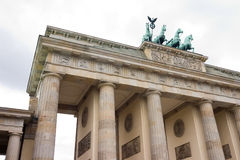 Brandenburger Tor. One of the best known landmarks in the centre of Berlin Stock Photos