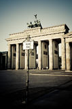 Brandenburger Tor in Berlin Stock Images