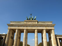 Brandenburger Tor, Berlin stock photo