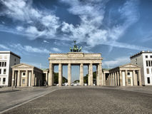 Brandenburger Tor, Berlin Royalty Free Stock Photos