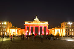 Brandenburger Tor Berlin Royalty Free Stock Photography